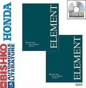 2007 2008 2009 2010 honda element shop service repair manual cd rh ebay com 2005 Honda Element Problems 2005 Honda Element Coil Locations