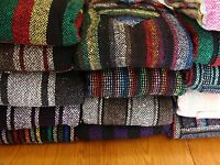 Childrens Unisex Jerga Mexican Poncho Baja Hoodie Pullover Jacket True Hand Made