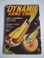 Dynamic Science Stories Vol 1 # 1 February 1939 Vintage Sci-Fi Pulp Magazine