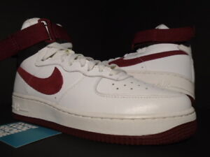 Details about NIKE AIR FORCE 1 HIGH RETRO QS SUMMIT OFF WHITE TEAM RED DUNK 743546 106 MEN 7