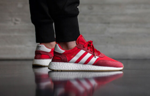 6832ac54d56f adidas Iniki Runner Bb2091 Red Running White Gum NMD Ultra Boost for sale  online