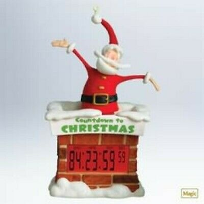 2011 Hallmark Ornament Countdown To Christmas NIB QXG7563 ...