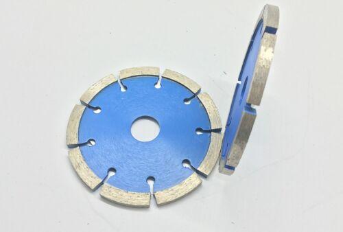 "3 Piece 4.5 Inch Tuck Point Diamond Blade 1//4/"" 250 Inch Width Concrete Cement"