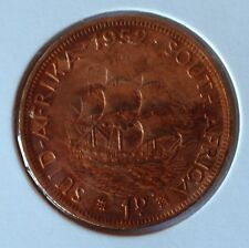 South Africa 1952 penny