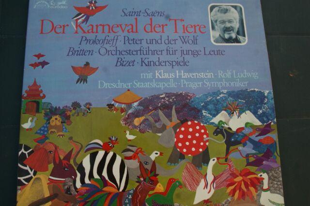 "Musik:Klassik für Kinder: ""Karneval der Tiere"" Doppelalbum (Vinyl)"