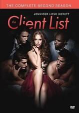 Client List: Season 2,  (DVD-R, 2014, 4-Disc Set) Used,  Made on-Demand