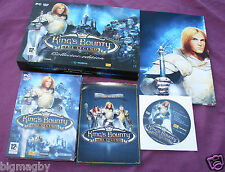 JEU PC KING'S BOUNTY THE LEGEND COLLECTOR EDITION COMME NEUF
