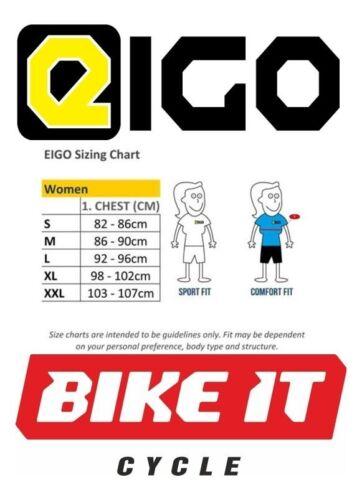 EIGO LADIES CYCLE JACKET SMALL GREEN CYCLING BIKE MTB ROAD LONG SLEEVE