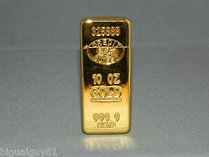 Image Is Loading Ultra Thin Gold Bar Shaped Sophisticated Butane Lighter