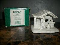 ENESCO WHITE PORCELAIN NATIVITY CHRISTMAS TABLE / SHELF COLLECTIBLE FIGURINE
