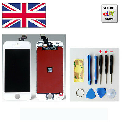 LCD Touch Screen & Digitizer Display Assembly  For iPhone 5 white