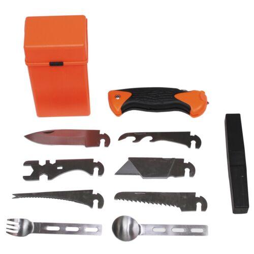"Überlebensset Orange Box survival outdoor set 27 piezas /""Special/"""