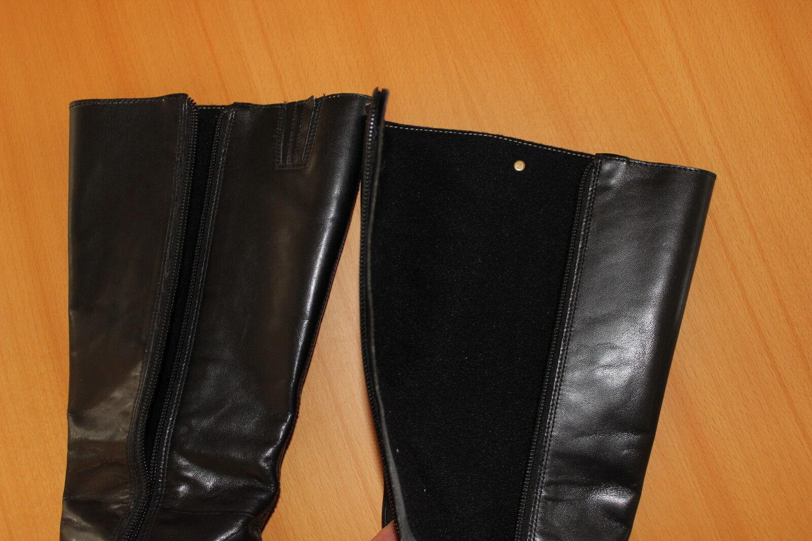 Damen Stiefel Buffalo Farbe: Echtleder Gr. 36 Farbe: Buffalo schwarz NEUWERTIG 19c278