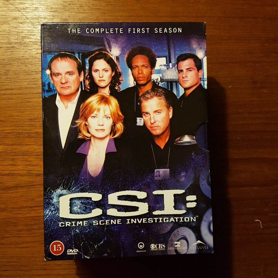 CSI, DVD, TV-serier