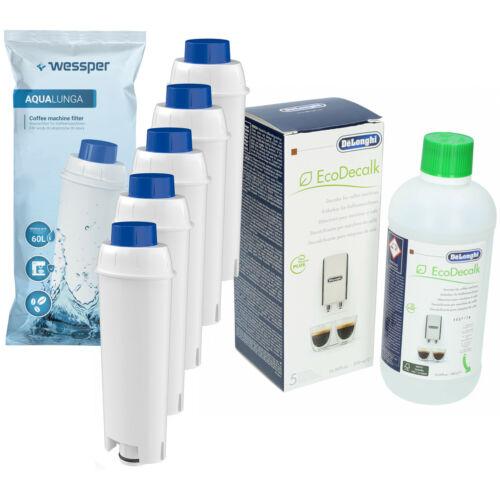 5x Filtro Acqua per ECAM 23.420.SR Delonghi Decalcificante