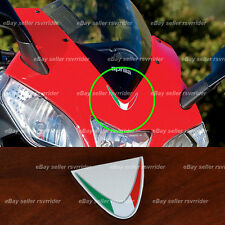 V4 italian flag decal for aprilia rsv4 sportbike can also fit ducati fender