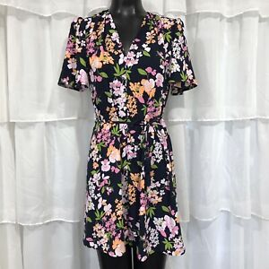 XS-A-NEW-DAY-Floral-Print-Short-Sleeve-Dress