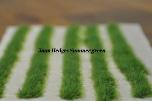 Static Grass Hedges summer grass Self-Adhesive 5mm high