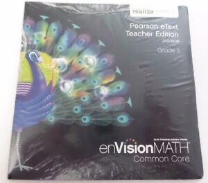 enVision Math Common Core Teacher Edition eText Grade 5 DVD