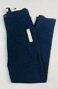 Hollister 25 Para Mujer Juniors Jeans Ajustados Pantalones Chinos De Baja Altura 5 Pocke Azul Marino Ebay