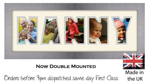Gift for Nanny Nanny Photo Frame by Photos in a Word