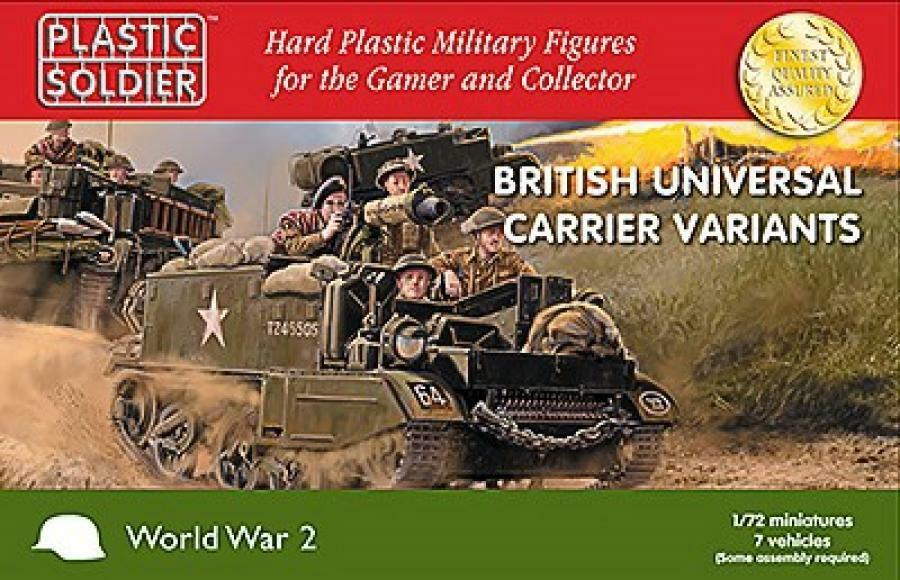 The Plastic Soldier Company  1 72 British Universal Carrier Variants  WW2V20033
