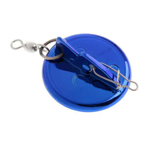 Boat Deep Sea Fishing Round Disc Trolling Connector With Lead Sinker