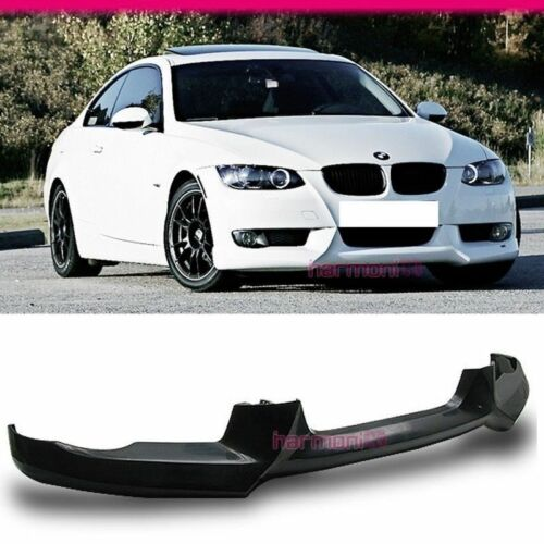 Fits 07-10 BMW E92 335i 328i Coupe 2Dr PU Front Bumper Lip Bodykit A Style