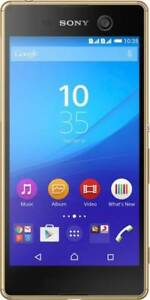 Sony-Xperia-M5-Gold-16GB-3GB-4G-Certified-Refurbished-Excellent-Condition