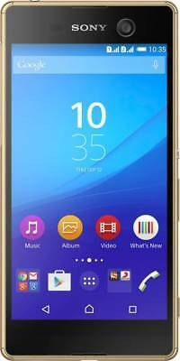 Sony Xperia M5 Dual Gold,16GB 3GB- Certified Refurbished - Excellent Condition