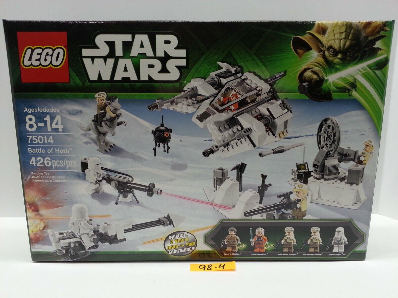 LEGO Star Wars Battle Battle Battle of HOTH 75014 - 5 Minifigures - BRAND NEW & FACTORY SEALED f19d65