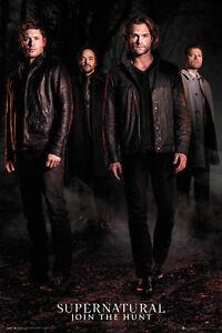 TV-Serie Film Poster Druck Supernatural Season 12 Key Art Größe 61x91,5 cm