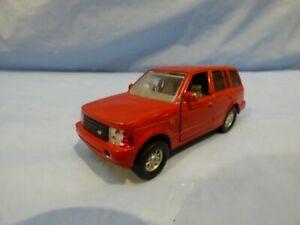 HTI-Diecast-TIRA-Red-Range-Rover-L322-Land-Rover-15cm-Diecast-Modello-Auto-Giocattolo