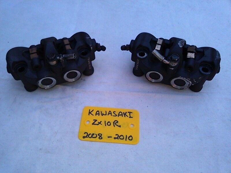 KAWASAKI ZX10R FRONT BRAKE CALIPER SET 08-10