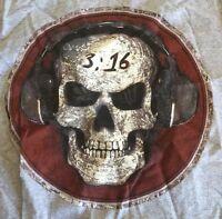 Stone Cold Steve Austin Podcast 3:16 Skull Muscle Shirt S Wwe Wwf Wcw Ecw