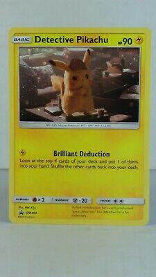 Pokemon Detective Pikachu #SM194 Detective Pikachu Holo Rare