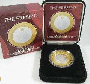 2000-MILLENNIUM-SERIES-THE-PRESENT-Silver-Proof-Coin