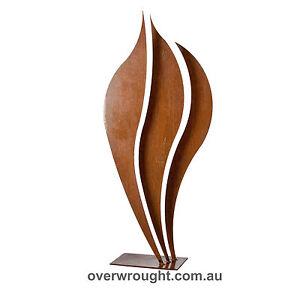 Flame-1-Abstract-metal-garden-art-sculpture-Handmade-in-Australia