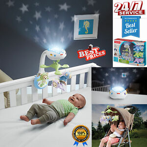 Baby-Musical-Cot-Bed-Toy-Newborn-Remote-Mobile-Projection-Crib-Light-Pram-Toys