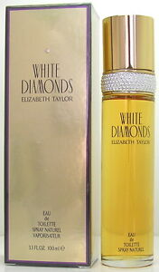 White Diamonds fur DAMEN von Elizabeth Taylor - 100 ml Eau de Toilette Spray