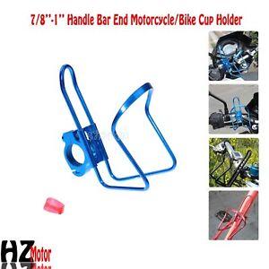 Motorcycle-Blue-Drink-Bottle-Holder-Kawasaki-Vulcan-VN-2000-900-Classic-Custom