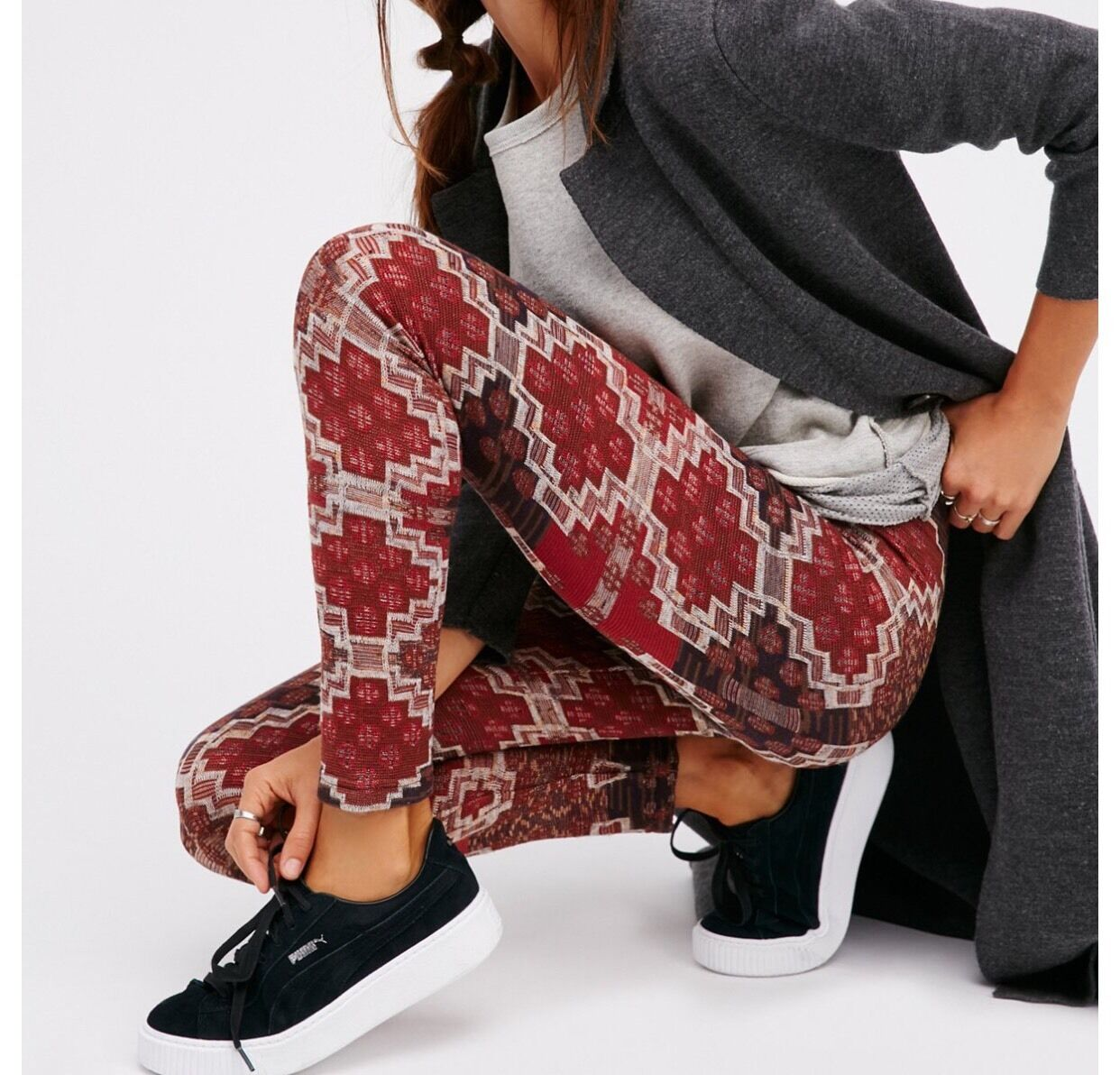 Free People Byzantine Sweater Leggings Nwt Xs