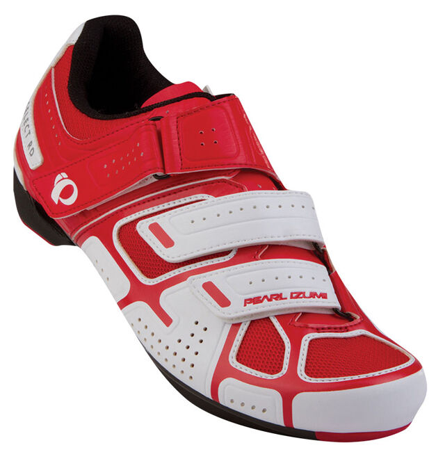Pearl Izumi Select Road III Bike Bicycle Cycling shoes White True Red 40