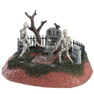 LEMAX SPOOKY TOWN Halloween Village - LONG TIME NO SEE Table Accent Light Up