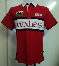 WALES RWC 2015 S/S RUGBY JERSEY BY CANTERBURY SIZE ADULTS LARGE BRAND NEW