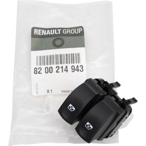 Original renault interruptor elevalunas Clio III Twingo II la parte delantera izquierda 8200214943