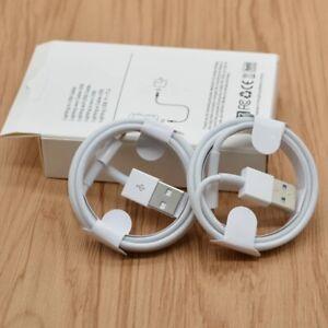 Câble USB Renforcé Data Sync Chargeur Pour Apple iPhone 5/6/7/8/X/XS/XR/SE 1M 2M