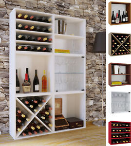 VCM-Wein-Regalserie-Regal-Weinregal-Weinschrank-Weinflaschen-Schrank-Holz