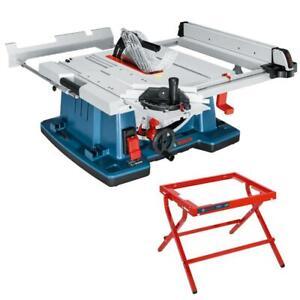 Bosch Tischsäge Tischkreissäge GTS 10 XC mit Maschinenständer GTA 6000