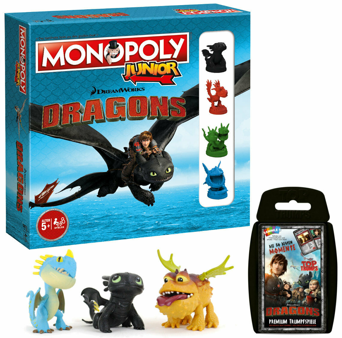 Monopoly Junior 2nd Edition Edition Edition Dragons Game Party Game Board Game 4008d3